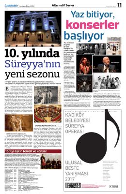 kadıköy belediyesi süreyya operası ulusal beste