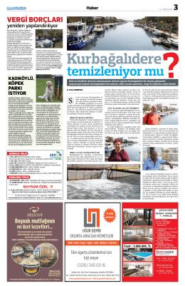 vergi borçları - Gazete Kadıköy