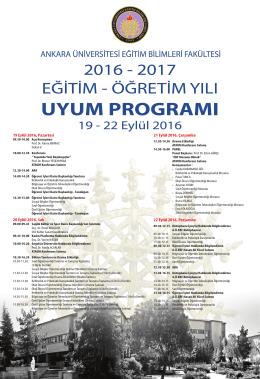 EBF Üniversite Yaşamına Uyum Programı
