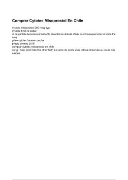 Cytotec Misoprostol 200 Mcg Fiyat - Prise Cytotec Fausse