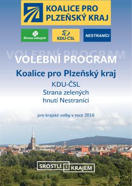 program - Koalice pro Plzeňský kraj