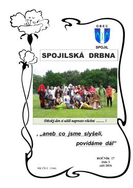 SPOJILSKÁ DRBNA