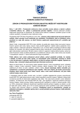 Stáhnout - Komora daňových poradců ČR
