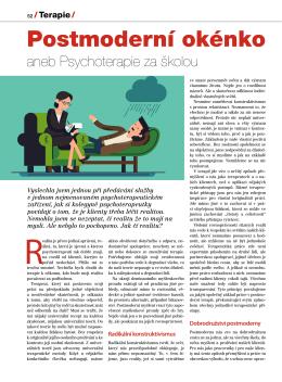 Najdete i v časopise PSYCHOLOGIE DNES.
