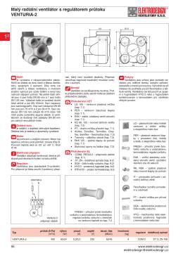 venturia-e 3v - Elektrodesign