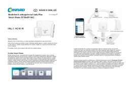 Bezdrátová zabezpečovací sada Plus Smart Home IP HmIP
