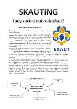 Informační brožura pro rodiče