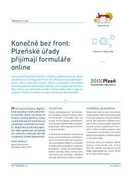 Konečně bez front: Plzeňské úřady přijímají