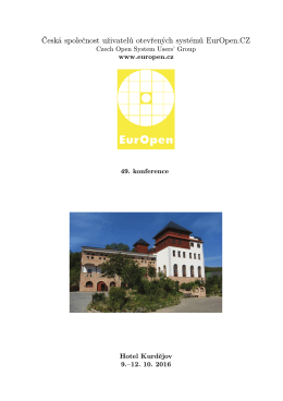 Program - Europen