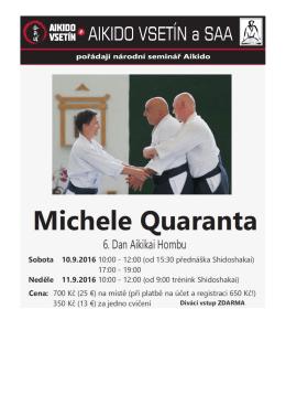 Bližší informace k semináři