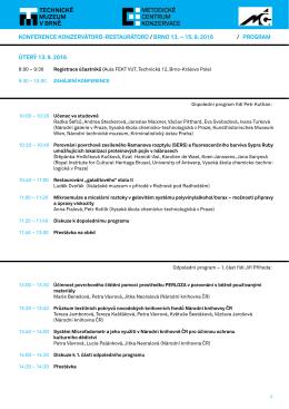 program konference ve formátu PDF