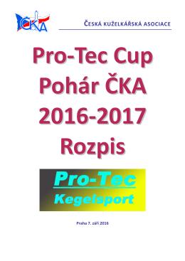 Rozpis - Česká kuželkářská asociace