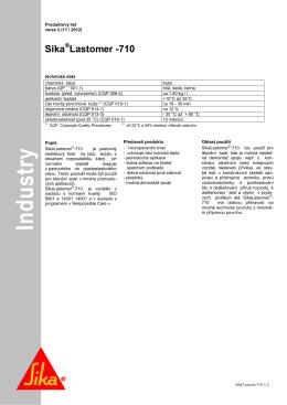 stáhni pdf - Sika CZ, sro
