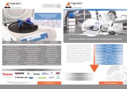 Laboratorní přístroje a technologie pro mikrobiologické laboratoře