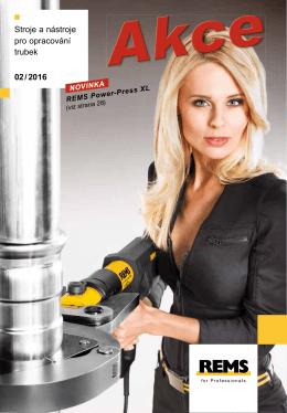 Stroje a nástroje pro opracování trubek 02 / 2016