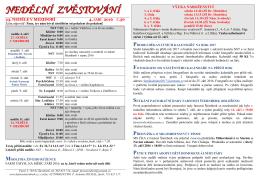Stáhnout Zvěstování v pdf