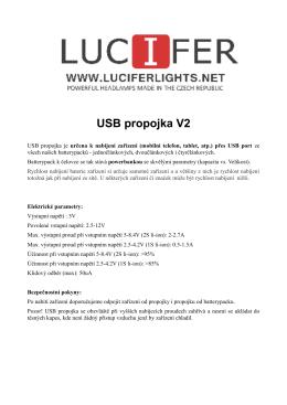 USB propojka V2 - Luciferlights.net
