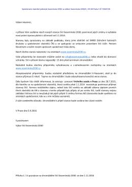 Průvodní dopis ke stanovám SVJ SEZ 2030_11 2016