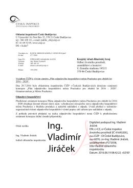Ing. Vladimír Jiráček