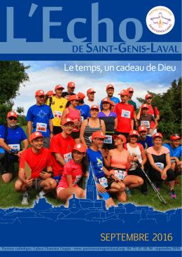 septembre 2016 - Paroisse Catholique de Saint Genis Laval