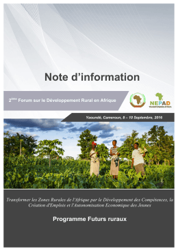 Note d`information