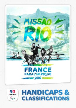 handicaps - France Paralympique
