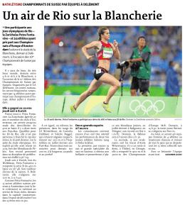 Un air de Rio sur la Blancherie