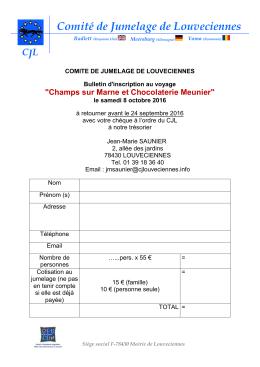 kkkkk - Comité de Jumelage de Louveciennes
