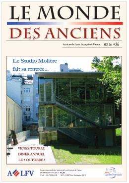 des Anciens - Anciens du Lycee Français de Vienne