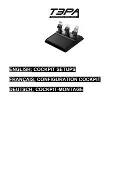 english: cockpit setups