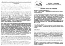 Annonces de la semaine - Paroisse Saint Winoc et Saint Folquin de