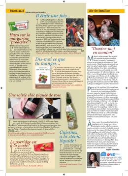 l`article du SoirMagazine