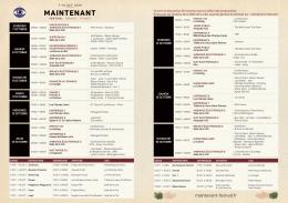 Télécharger l`agenda - Festival Maintenant