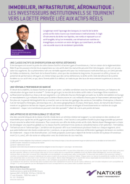 Voir l`insight - Natixis Asset Management