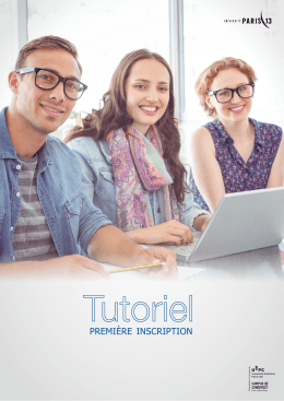 Tutoriel - Inscriptions