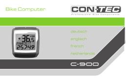 CONTEC Bike Computer C-900