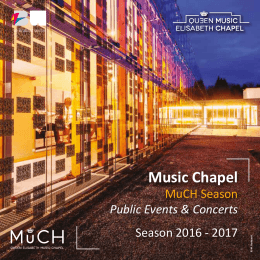 Queen Elisabeth Music Chapel
