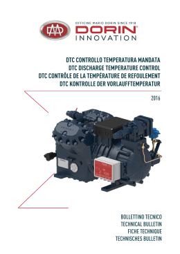 dtc controllo temperatura mandata dtc discharge