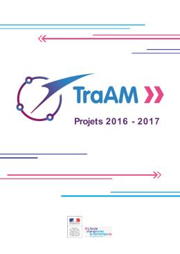 Projets 2016 - 2017 - Ministère de l`éducation nationale