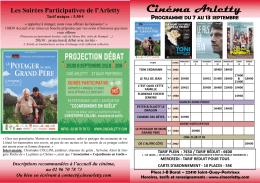 Cinéma Arletty - Ville de Saint-Quay