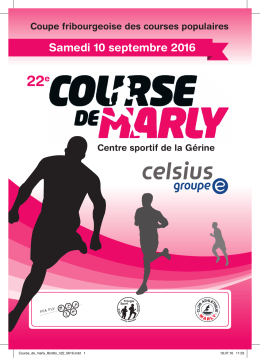 Libretto Course de Marly 2016