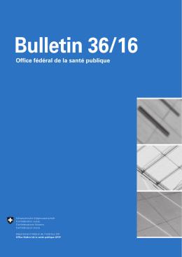 BAG Bulletin 36/16 f