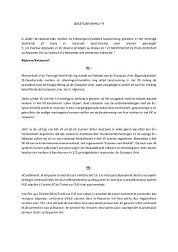 9. Zullen EU-beschermde merken en tekeningen/modellen
