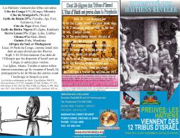Preuves-haitiens sont les tribus2716