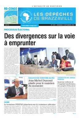 rd-congo - Les Dépêches de Brazzaville