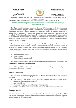 DEPARTEMENT RESSOURCES HUMAINES