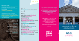 16-17-18 SEPT. 2016 - Musée Soulages