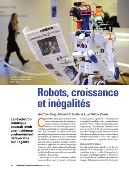 Robots, croissance et inégalités