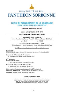 Brochure du diplôme (2016-17) - Université Paris 1 Panthéon