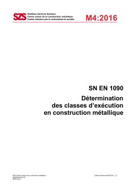 SZS Cahier technique M4